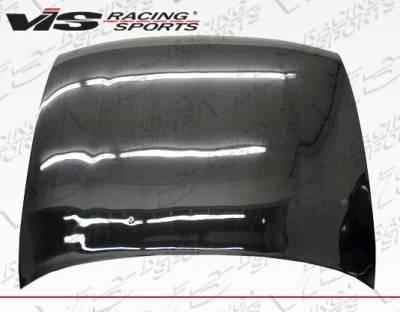 VIS Racing - Carbon Fiber Hood OEM Style for Toyota Corolla 4DR 93-97 - Image 2