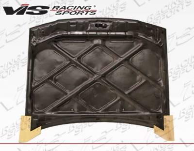 VIS Racing - Carbon Fiber Hood OEM Style for Toyota Corolla 4DR 93-97 - Image 3