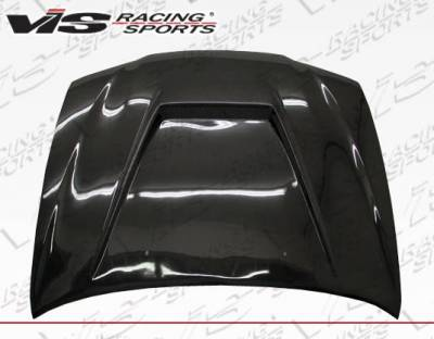 VIS Racing - Carbon Fiber Hood Invader Style for Toyota Corolla 4DR 98-02 - Image 2