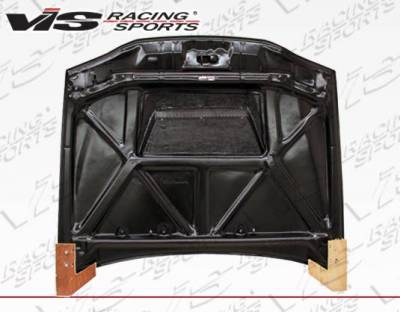 VIS Racing - Carbon Fiber Hood Invader Style for Toyota Corolla 4DR 98-02 - Image 3