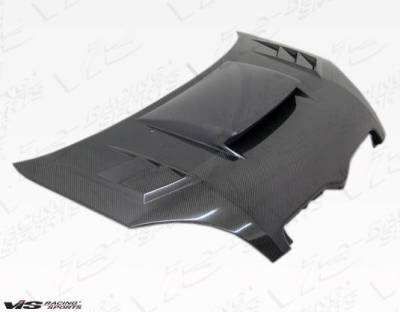 VIS Racing - Carbon Fiber Hood Cyber Style for Toyota Echo (JDM) 4DR 00-02 - Image 1