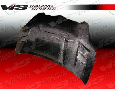 VIS Racing - Carbon Fiber Hood Cyber Style for Toyota Echo (JDM) 4DR 00-02 - Image 2