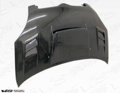VIS Racing - Carbon Fiber Hood Cyber Style for Toyota Echo (JDM) 4DR 00-02 - Image 3