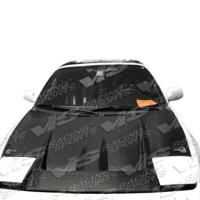 VIS Racing - Carbon Fiber Hood Techno R Style for Toyota MR2 2DR 90-95 - Image 2