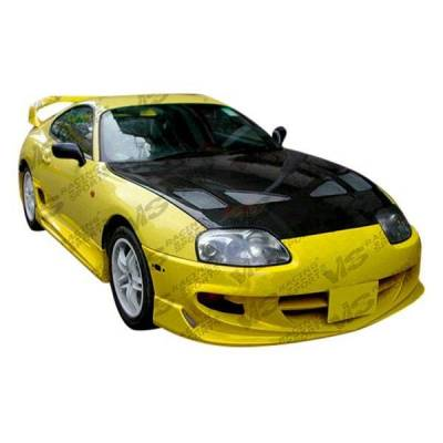 VIS Racing - Carbon Fiber Hood Techno R Style for Toyota Supra 2DR 93-98 - Image 2