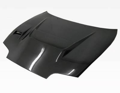 VIS Racing - Carbon Fiber Hood V Line Style for Toyota Supra 2DR 93-98 - Image 1