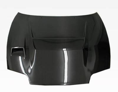 VIS Racing - Carbon Fiber Hood V Line Style for Toyota Supra 2DR 93-98 - Image 2