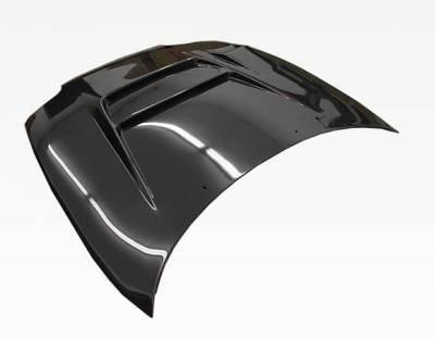 VIS Racing - Carbon Fiber Hood V Line Style for Toyota Supra 2DR 93-98 - Image 3