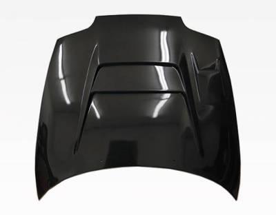 VIS Racing - Carbon Fiber Hood V Line Style for Toyota Supra 2DR 93-98 - Image 4