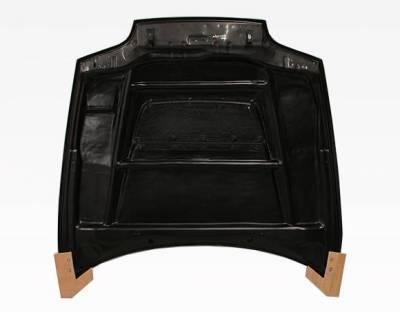 VIS Racing - Carbon Fiber Hood V Line Style for Toyota Supra 2DR 93-98 - Image 5
