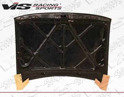 VIS Racing - Carbon Fiber Hood OEM Style for Toyota Tacoma 2DR 95-00 - Image 3