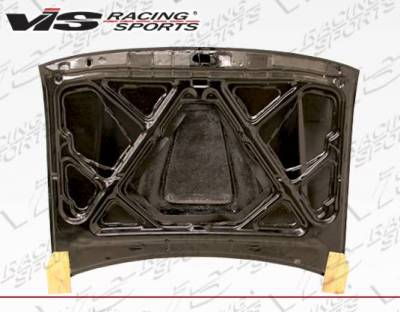 VIS Racing - Carbon Fiber Hood SS Style for Toyota Tacoma 2DR 95-00 - Image 3