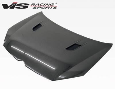 VIS Racing - Carbon Fiber Hood RVS Style for Volkswagen Golf 6 2DR & 4DR 10-14 - Image 2