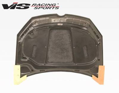 VIS Racing - Carbon Fiber Hood RVS Style for Volkswagen Golf 6 2DR & 4DR 10-14 - Image 4