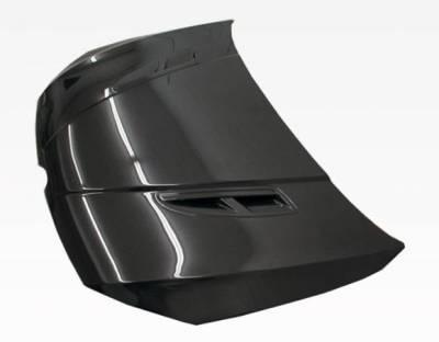 VIS Racing - Carbon Fiber Hood KS Style for Volkswagen Golf 7 2DR & 4DR 2015-2019 - Image 1