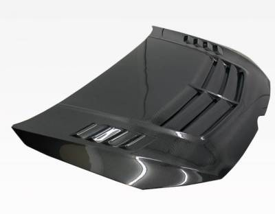 VIS Racing - Carbon Fiber Hood VST Style for Volkswagen Golf 7 2DR & 4DR 2015-2019 - Image 2