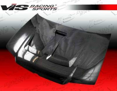 VIS Racing - Carbon Fiber Hood Monster Style for Volkswagen Jetta 4DR 99-05 - Image 3