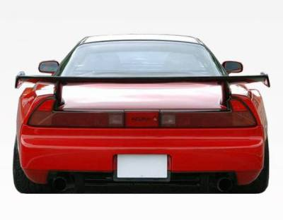 VIS Racing - Carbon Fiber Spoiler M Speed  Style for Acura NSX 2DR 91-07 - Image 2