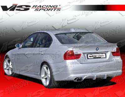 VIS Racing - Carbon Fiber Spoiler A Tech Style for BMW E90 4DR 06-08 - Image 4
