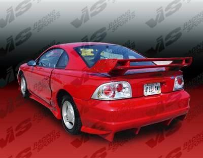 VIS Racing - Carbon Fiber Spoiler Stalker Style for Ford Mustang 2DR 99-04 - Image 2