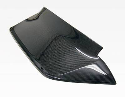 VIS Racing - Carbon Fiber Spoiler Crow Style for Honda Civic Hatchback 92-95 - Image 1