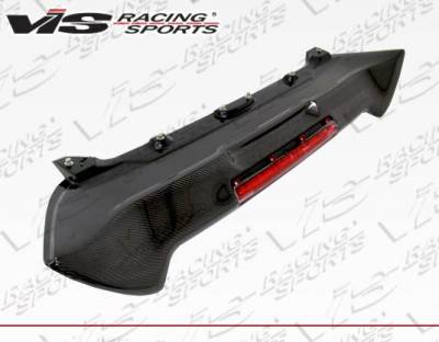 VIS Racing - Carbon Fiber Spoiler Type R Style for Honda Civic Hatchback 02-05 - Image 4