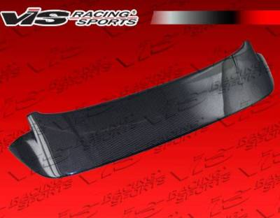 VIS Racing - Carbon Fiber Spoiler Techno R Style for Honda Fit 4DR 09-10 - Image 1
