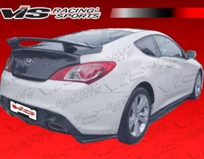 VIS Racing - Carbon Fiber Spoiler Pro Line Style for Hyundai Genesis 2DR 10-16 - Image 3