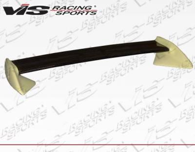 VIS Racing - Carbon Fiber Spoiler OEM Style for Mazda RX7 2DR 99 - Image 2