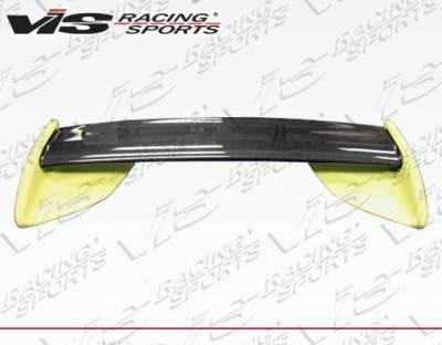 VIS Racing - Carbon Fiber Spoiler OEM Style for Mazda RX7 2DR 99 - Image 4