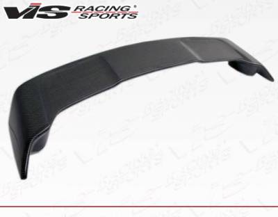 VIS Racing - Carbon Fiber Spoiler Rally Style for Mitsubishi Evo 10 4DR 08-15 - Image 2