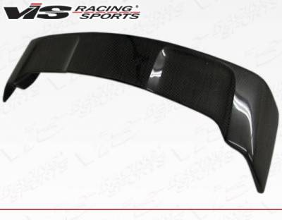 VIS Racing - Carbon Fiber Spoiler Rally Style for Mitsubishi Evo 10 4DR 08-15 - Image 4