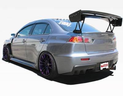 VIS Racing - Carbon Fiber Spoiler VTX Style for Mitsubishi Evo 10 4DR 08-18 - Image 1