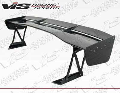 VIS Racing - Carbon Fiber Spoiler VTX Style for Mitsubishi Evo 10 4DR 08-18 - Image 2