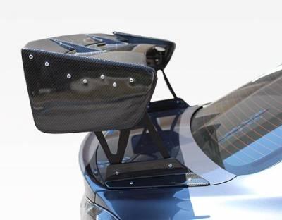 VIS Racing - Carbon Fiber Spoiler VTX Style for Mitsubishi Evo 10 4DR 08-18 - Image 3