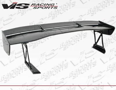 VIS Racing - Carbon Fiber Spoiler VTX Style for Mitsubishi Evo 10 4DR 08-18 - Image 4