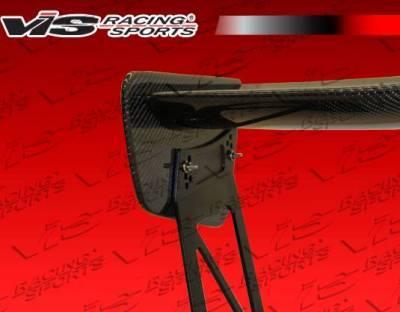 VIS Racing - Carbon Fiber Spoiler VTX V Style for Mitsubishi Evo 10 4DR 08-15 - Image 3