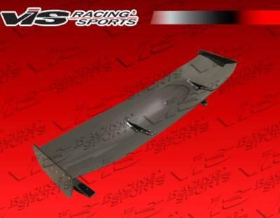 VIS Racing - Carbon Fiber Spoiler VTX V Style for Mitsubishi Evo 10 4DR 08-15 - Image 5