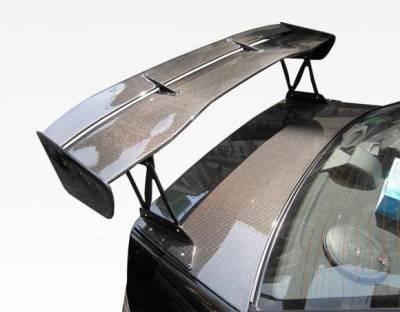 VIS Racing - Carbon Fiber Spoiler VTX Style for Mitsubishi Evo8 4DR 03-07 - Image 2