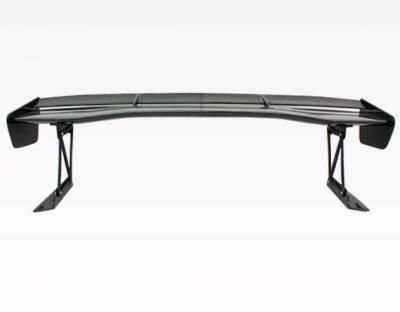 VIS Racing - Carbon Fiber Spoiler VTX Style for Mitsubishi Evo8 4DR 03-07 - Image 5