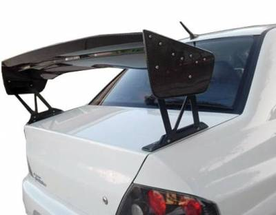 VIS Racing - Carbon Fiber Spoiler VTX V Style for Mitsubishi Evo8 4DR 03-07 - Image 3