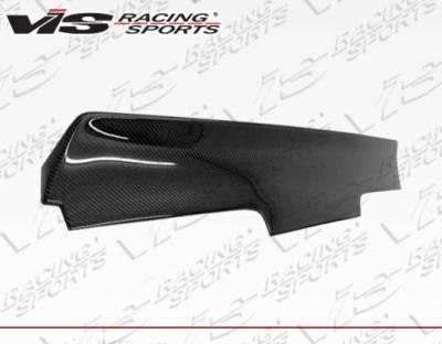 VIS Racing - Carbon Fiber Spoiler Quad Six Style for Nissan 240SX 2DR 89-94 - Image 1