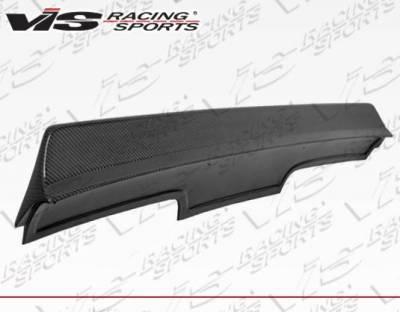 VIS Racing - Carbon Fiber Spoiler Quad Six Style for Nissan 240SX 2DR 89-94 - Image 3