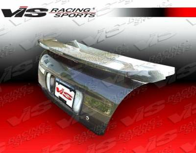 VIS Racing - Carbon Fiber Spoiler Techno R Style for Nissan Sentra 4DR 00-06 - Image 2