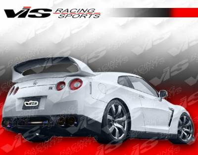 VIS Racing - Carbon Fiber Spoiler AMS Style for Nissan Skyline R35 2DR 09-15 - Image 2