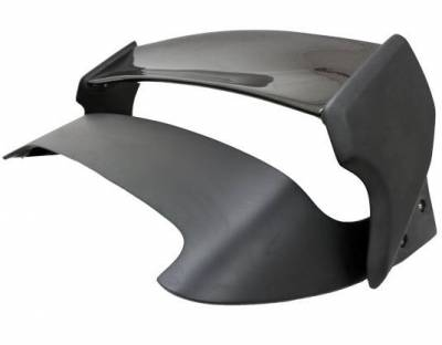 VIS Racing - Carbon Fiber Spoiler VRS Style for Subaru WRX Hatchback 08-14 - Image 2
