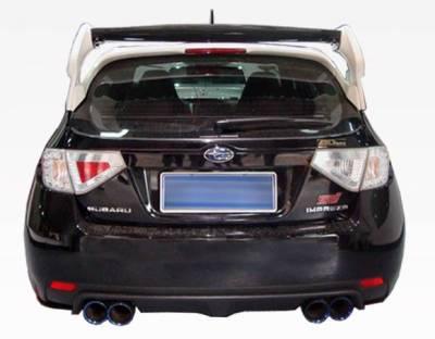 VIS Racing - Carbon Fiber Spoiler VRS Style for Subaru WRX Hatchback 08-14 - Image 6