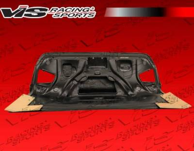 VIS Racing - Carbon Fiber Trunk OEM Style for Audi  A4 4DR 09-12 - Image 4