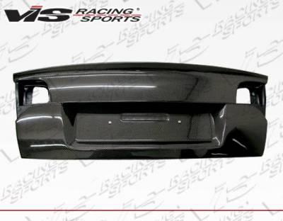 VIS Racing - Carbon Fiber Trunk OEM Style for Audi  A4 4DR 02-05 - Image 2