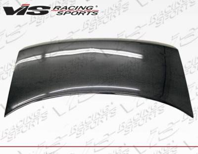 VIS Racing - Carbon Fiber Trunk OEM Style for Audi  A4 4DR 02-05 - Image 3